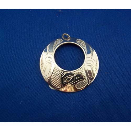 Silver Eagle Pendant by Chris Russ