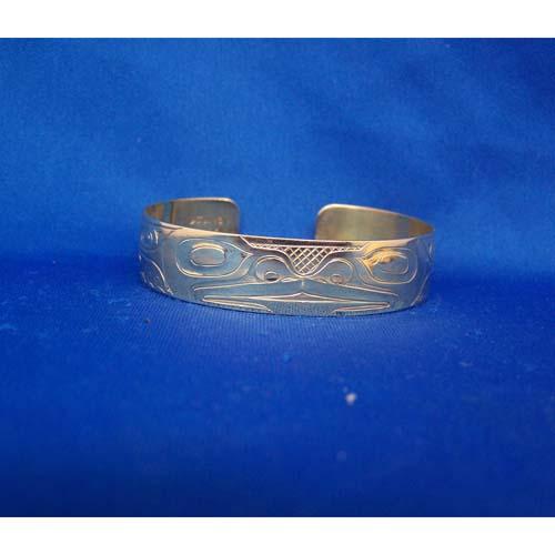 14 K Gold Frog Bracelet by Derek White