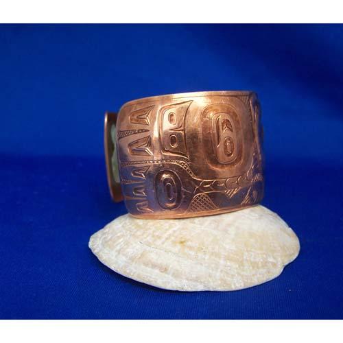 Copper Eagle Bracelet by Derek White