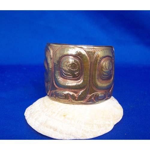 Copper Reprosee Bear Bracelet by Derek White