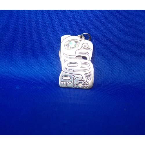 Silver Eaglel Pendant by Derek White