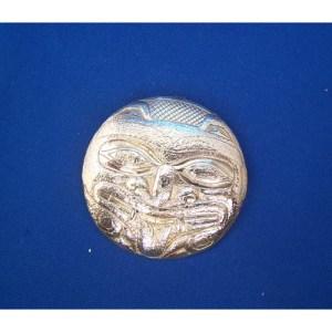 Silver Reprosee Bear Pendant by Derek White
