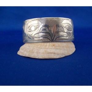 Silver Eagle Bracelet by Derekk White