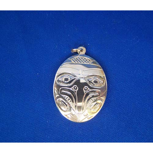 Silver Eagle Pendant by Derek White