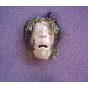 Cedar Fungus Man Mask by Shaun Edgars