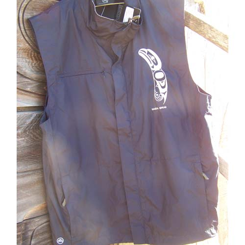 Baby Raven Eagle design fron vest by Cooper Wilson