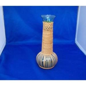 Cedar Barkk Vase by Brenda Edenshaw