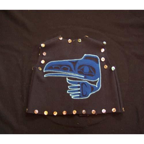 Raven Vest by Natasha Wilson