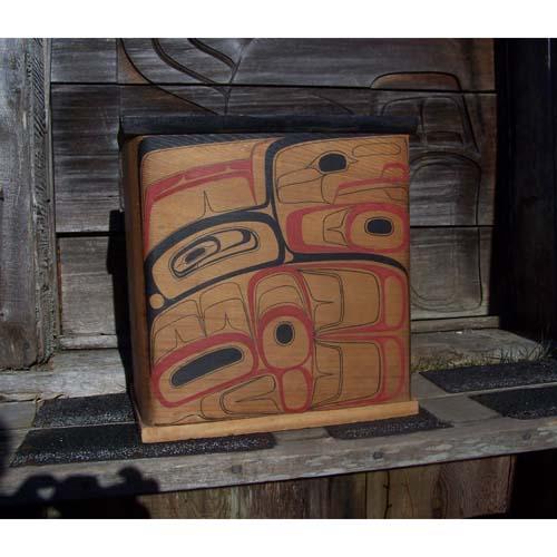 Red Cedar Bent Wood Box by Alan Weir