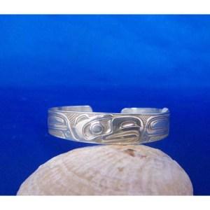 Silver Eagle Bracelet by Carmen Goertzen