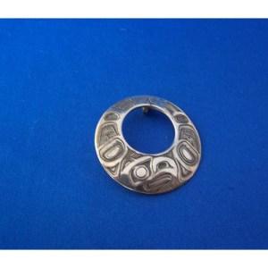 Silver Eagle Pendant by Carmen Goertzen
