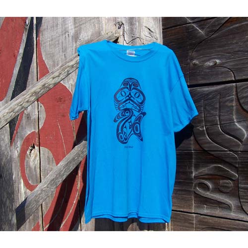 T-shirt Dogfish Design by Bill Reid