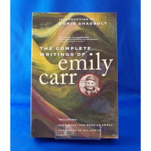 Book-The Complete Writings of Emily Carr
