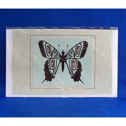 Card-Butterfly 4 by April White