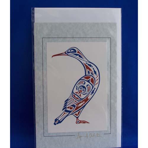 Card-Cormorant 2 April White
