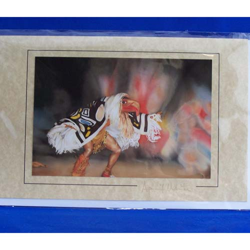 Card-Edenshaw Potlatch Dancer by April White