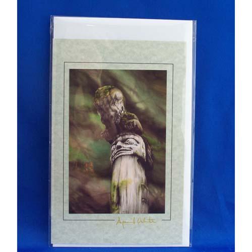 Card-Bear Spirit by April White