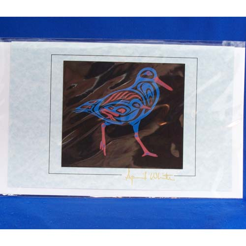 Card-Oyster Catcher 3 by April White