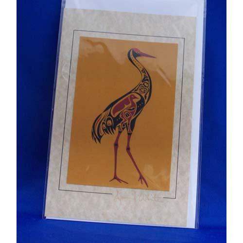 Card-Sandhill Crane 4 by April White