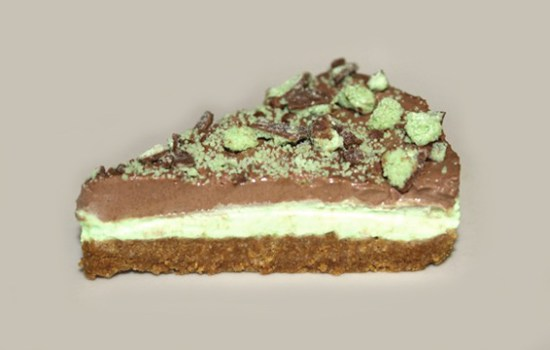 Gluten Free Mint Chocolate Cheesecake