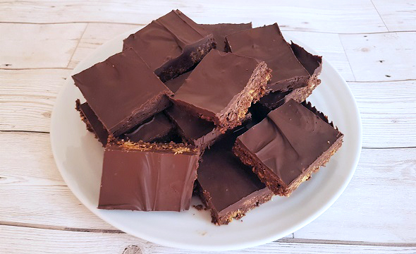 Vegan Chocolate Tiffin
