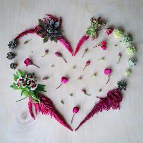 Fuzzy Pink Heart