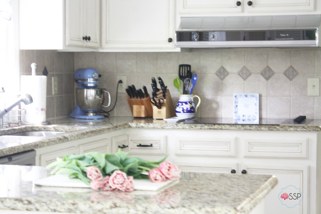 Blue and White Kitchen || Sarah Sofia Productions