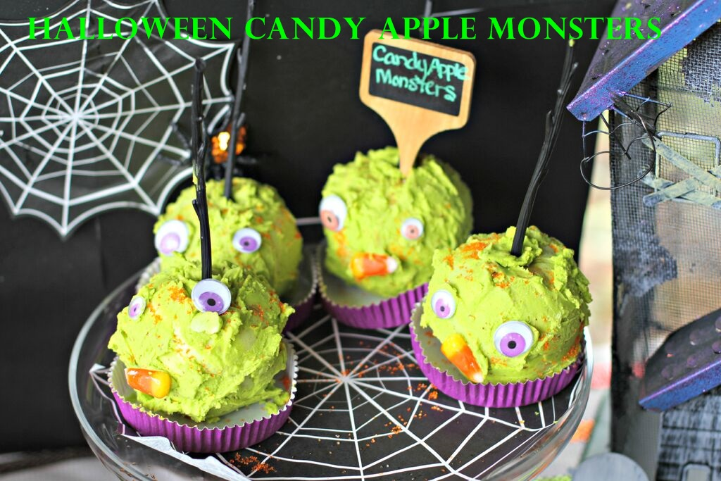 Halloween Candy Apple Monsters Sarah Sofia Productions