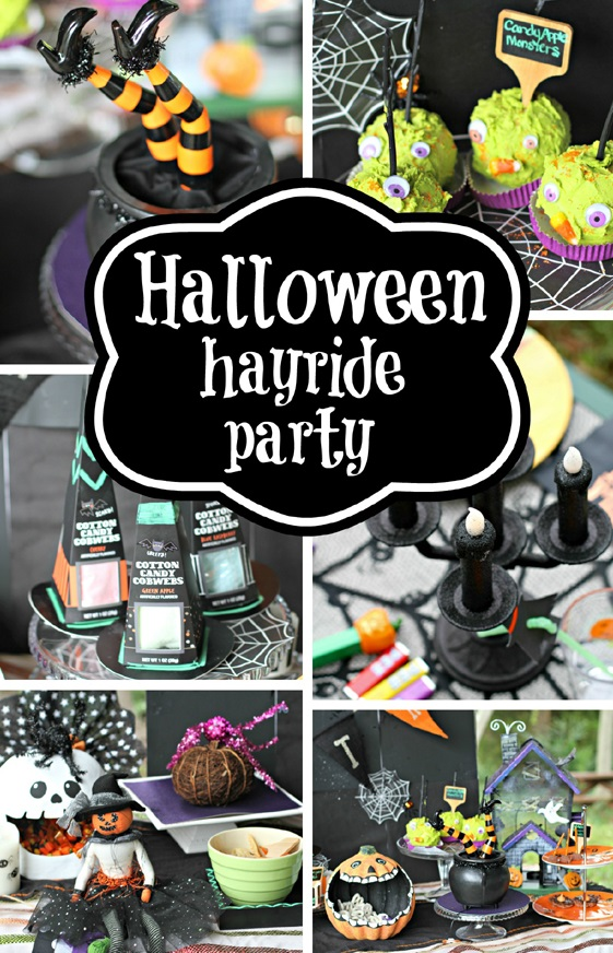 Halloween Costume Hayride Party