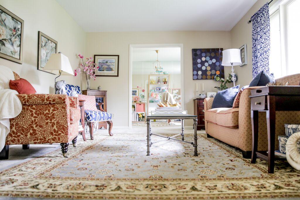 Living Room Refresh | Sarah Sofia Productions