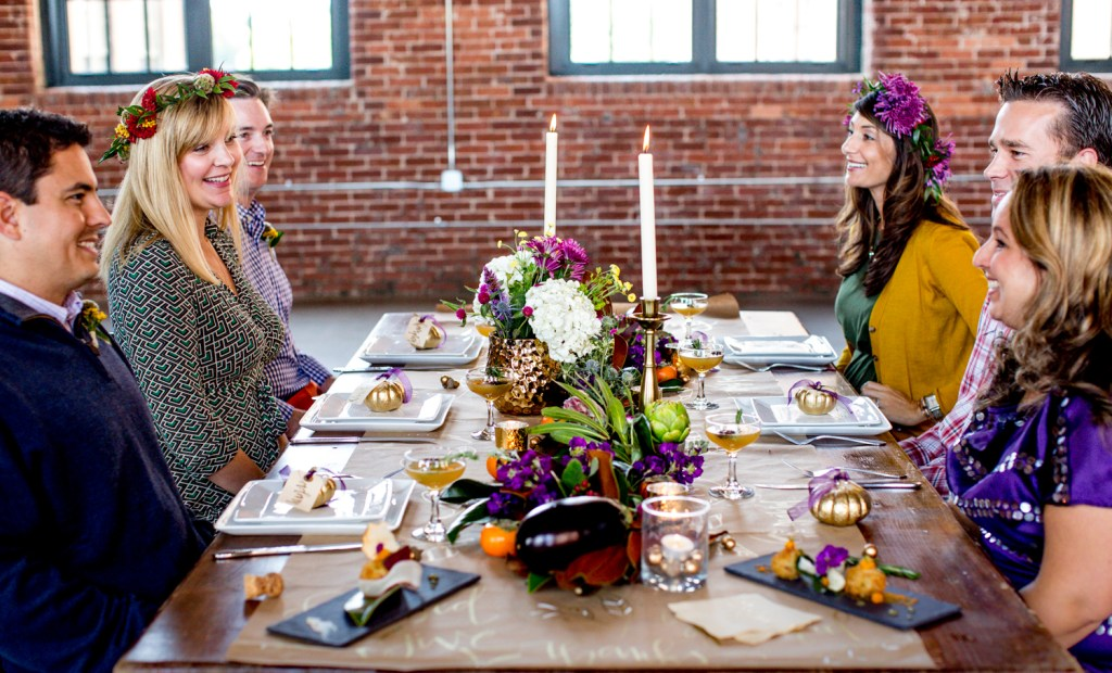 Chic Friendsgiving and Thanksgiving Sarah Sofia Productions