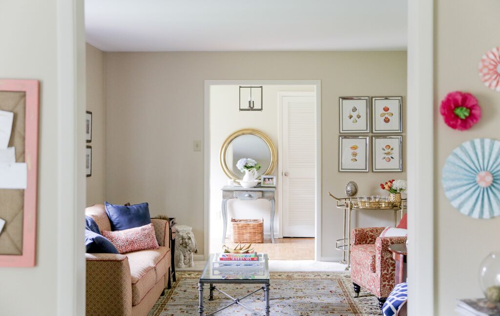 Living Room Refresh Reveal Sarah Sofia Productions