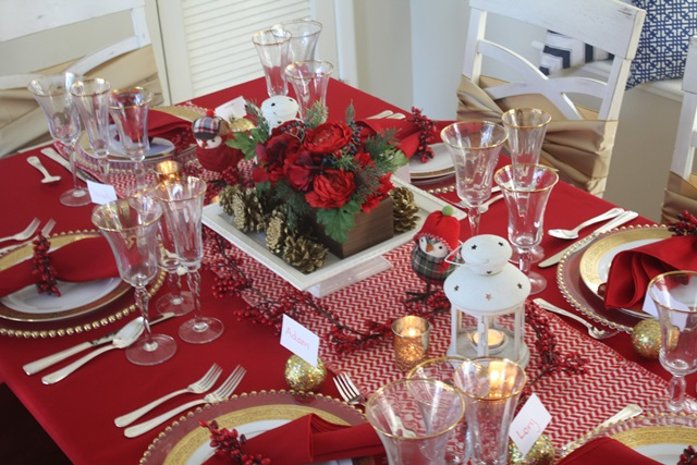 Christmas Decor and Tablescape Home Tour