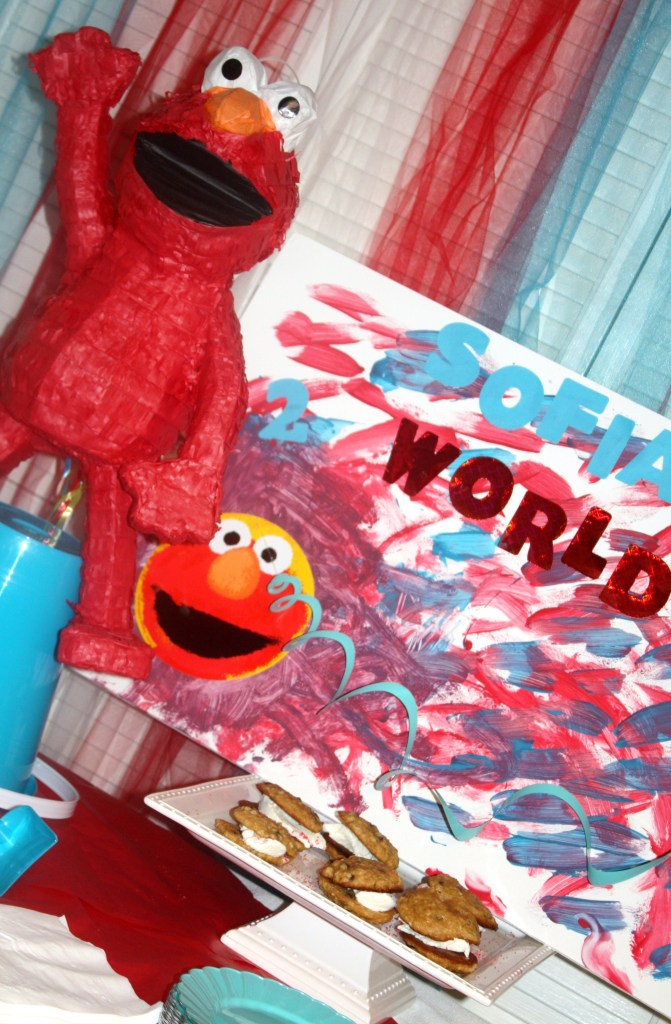 Elmo Themed Birthday Party   Sarah Sofia Productions