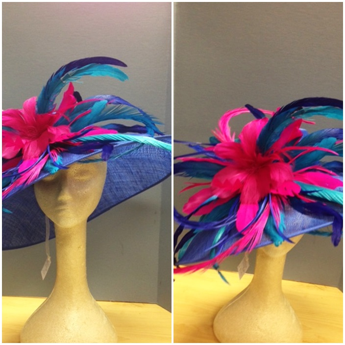 Derby Style Designer Hat Inspiration via Sarah Sofia Productions