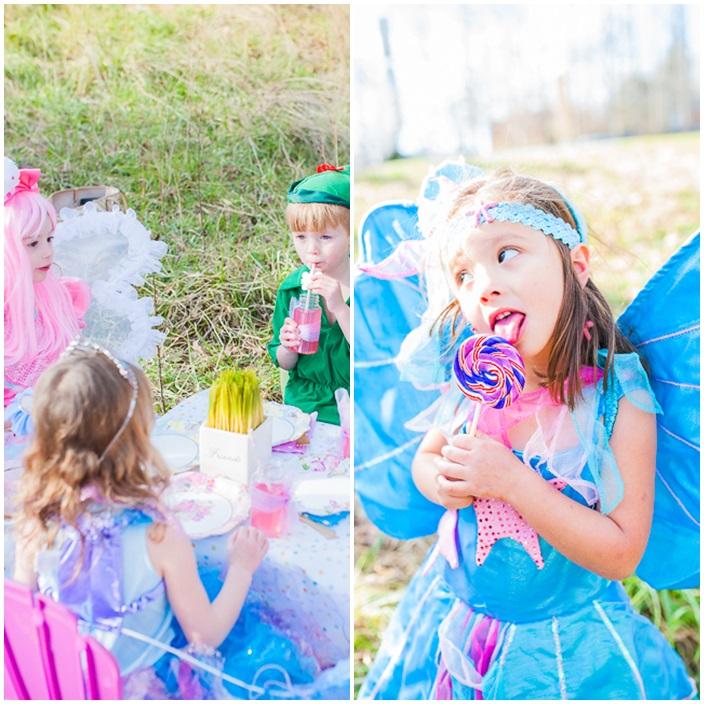 Fairies Unicorns and Rainbows Party via Sarah Sofia Productions 10