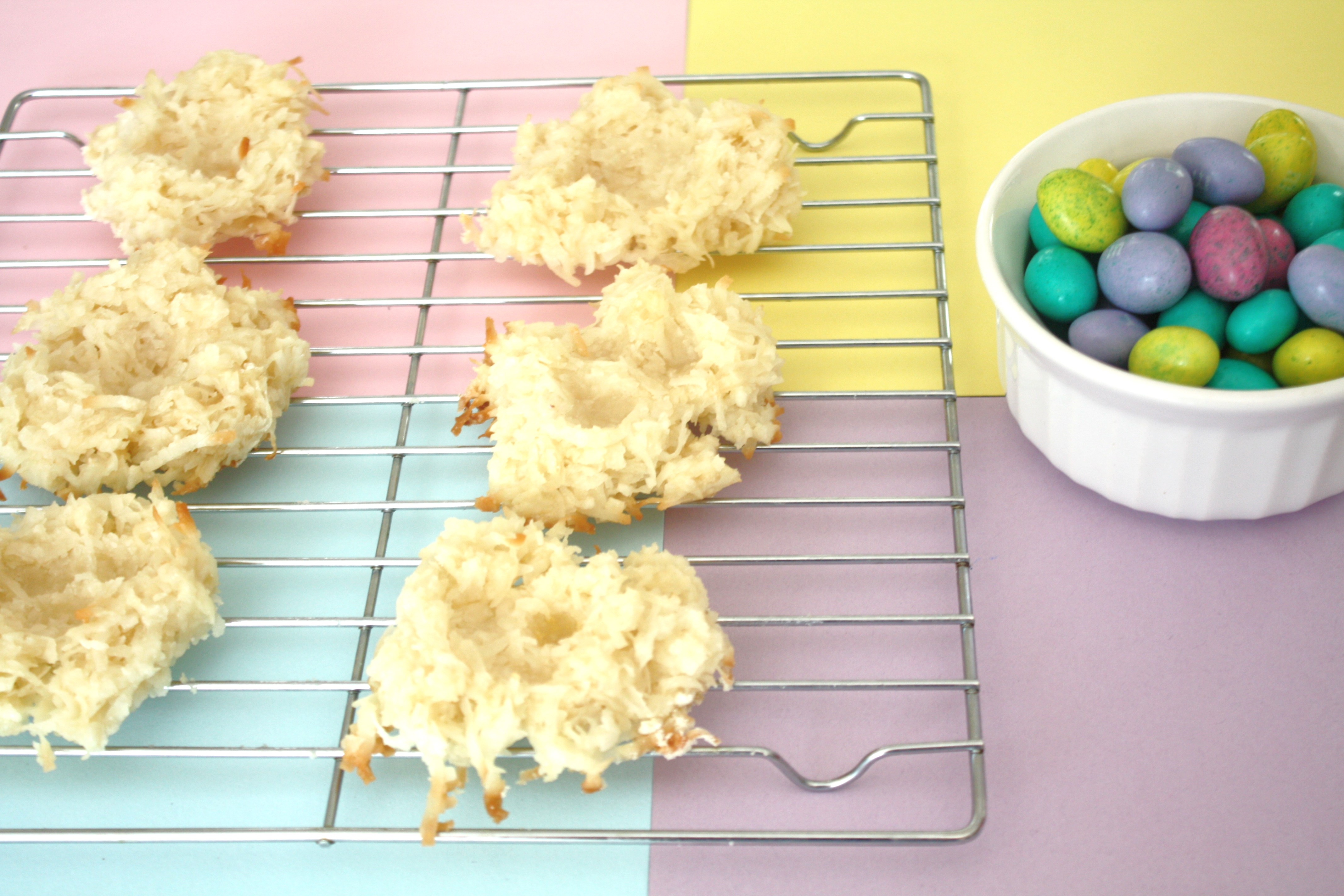 Bird Nest Cookies Easter or Party Treat via Sarah Sofia Productions