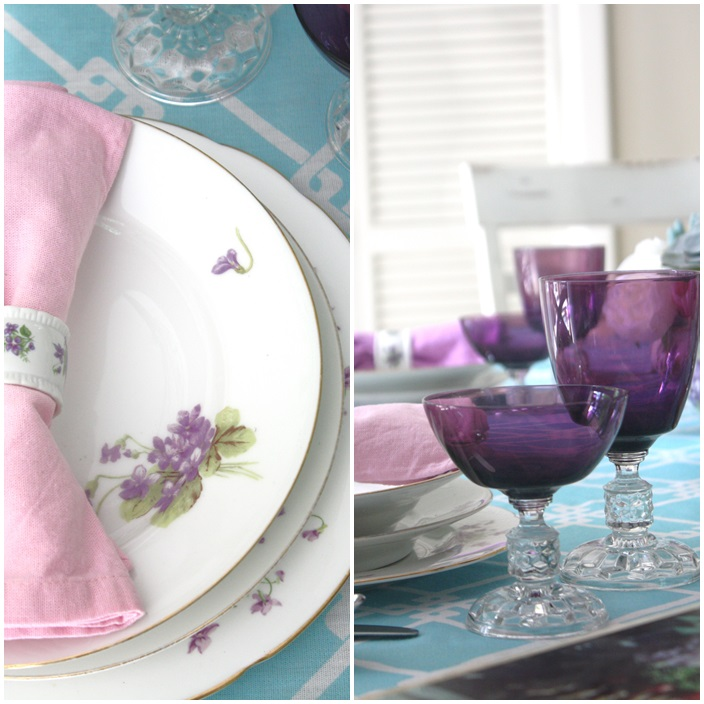Mothers Day Tablescape Tour