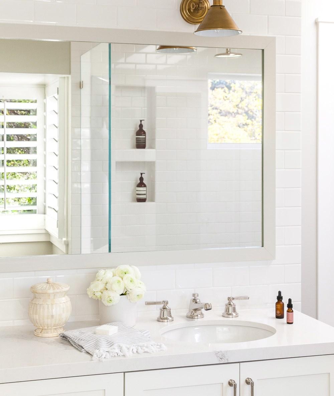 Bathroom Refresh Inspiration via Sarah Sofia Productions