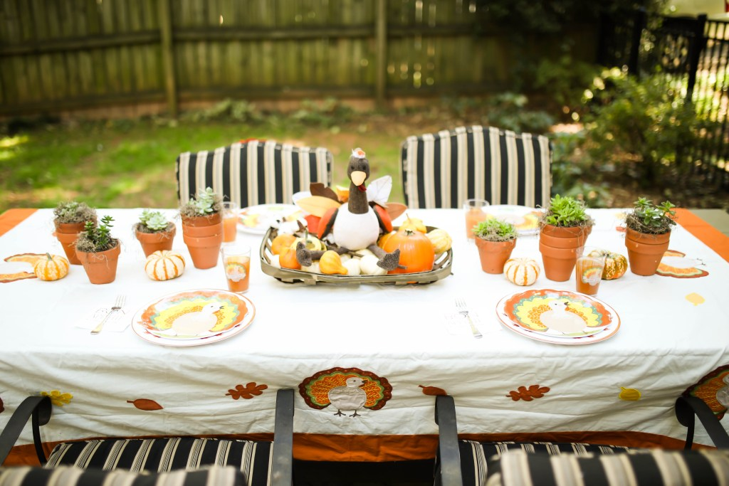 Kids Thanksgiving Party Feature Kara's Party Ideas via Sarah Sofia Productions
