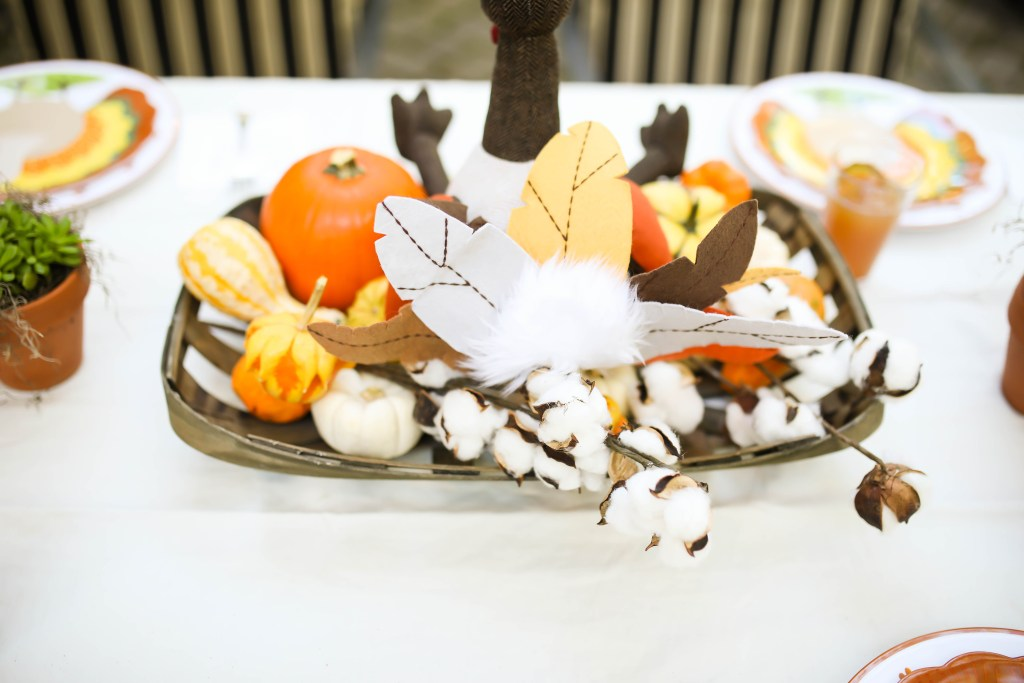 Kids Thanksgiving Party Feature Sweetly Chic Events via Sarah Sofia Productions