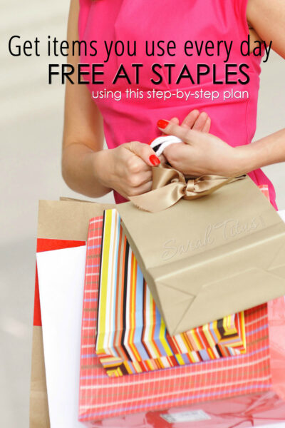 Staples is one of my favorite stores to shop at because I always score a ton of FREE stuff. Check out these little-known secrets on how you can get items you use every day for free at Staples!