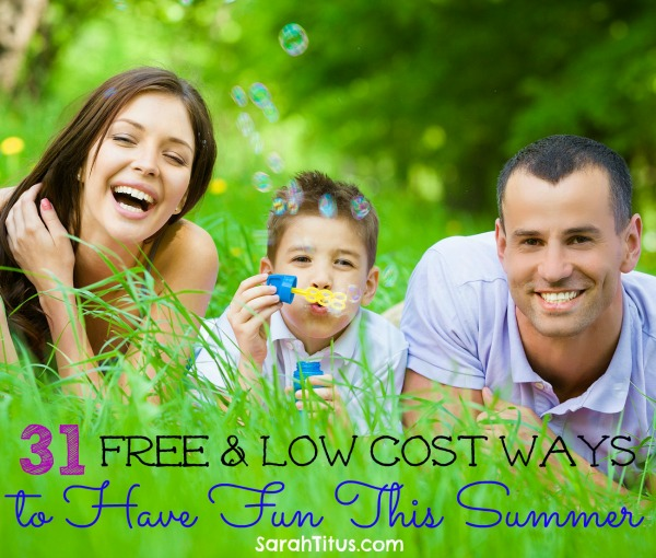 31 free and low cost ways to have fun this summer