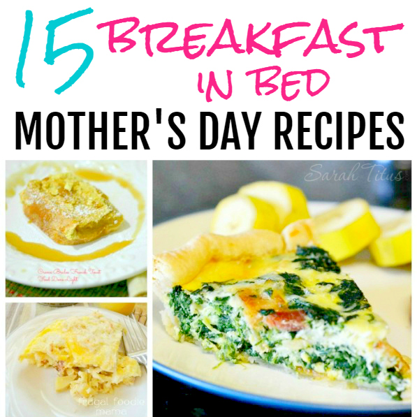 Breakfast in Bed Recipes for Mother's Day