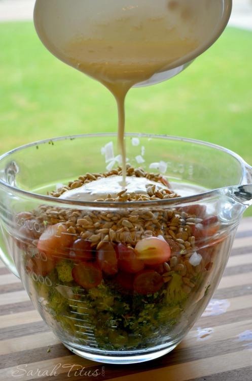 Broccoli and Grape Salad shared photo #2 (1)