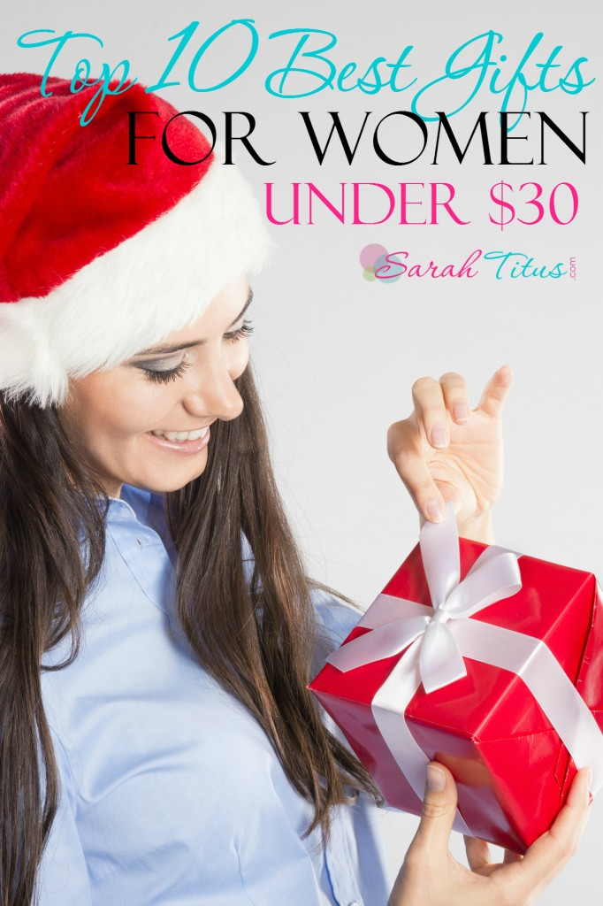 What do you get that friend? The co-worker? The neighbor? The leader of the PTA? Your kids teachers at school? Here are the top 10 best gifts for women under $30 that will solve that problem for you and keep you on track in your budget!