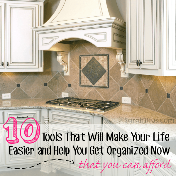I could easily see myself as a professional organizer. I've always been really passionate about having everything in my home have its proper place. Here you will find the 10 most common, essential tools you need in your home to be more organized. Things that will provide you the most bang for your buck.