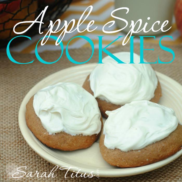 Apple Spice Cookies