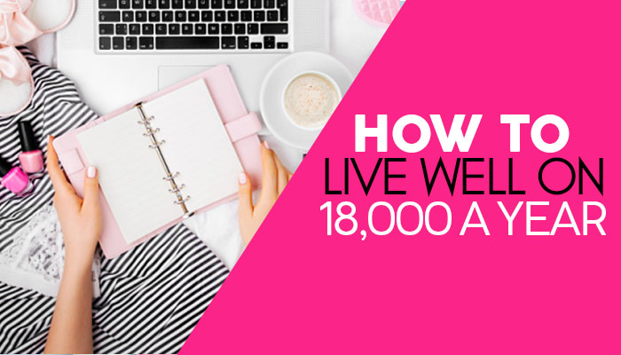 It is totally possible to live well and have everything you need on a low income! Learn how to live well on 18,000 a year! #livewell #liveonlowincome #smallincome #oneincome #livingwellonless