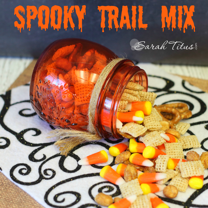 Funnest Halloween Treats To Make With Kids - Spooky Trail Mix